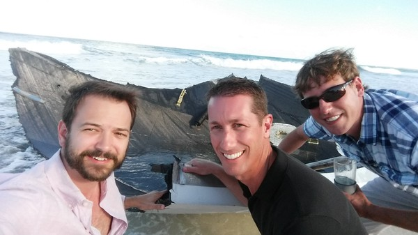 What it's Like to Find a SpaceX Rocket Washed Up on a Tropical Beach