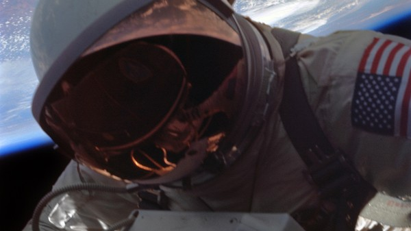 The Lost Photos of America's First Spacewalk