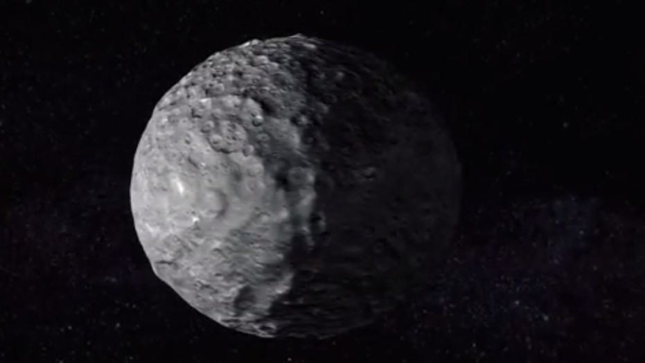 Take a Virtual Fly-By of Dwarf Planet Ceres