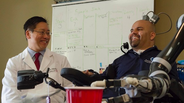 The Paralysed Man Who Can Control a Robotic Arm With His Thoughts