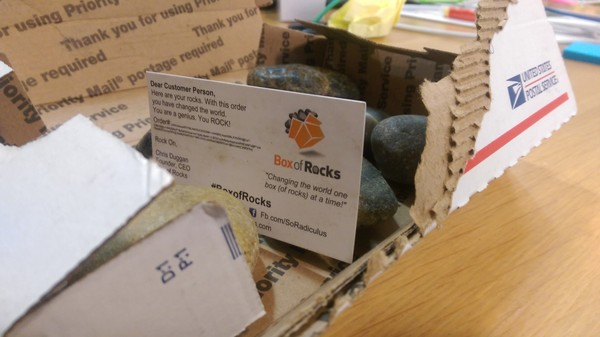 'Box of Rocks' Is the Best Startup in the Entire World