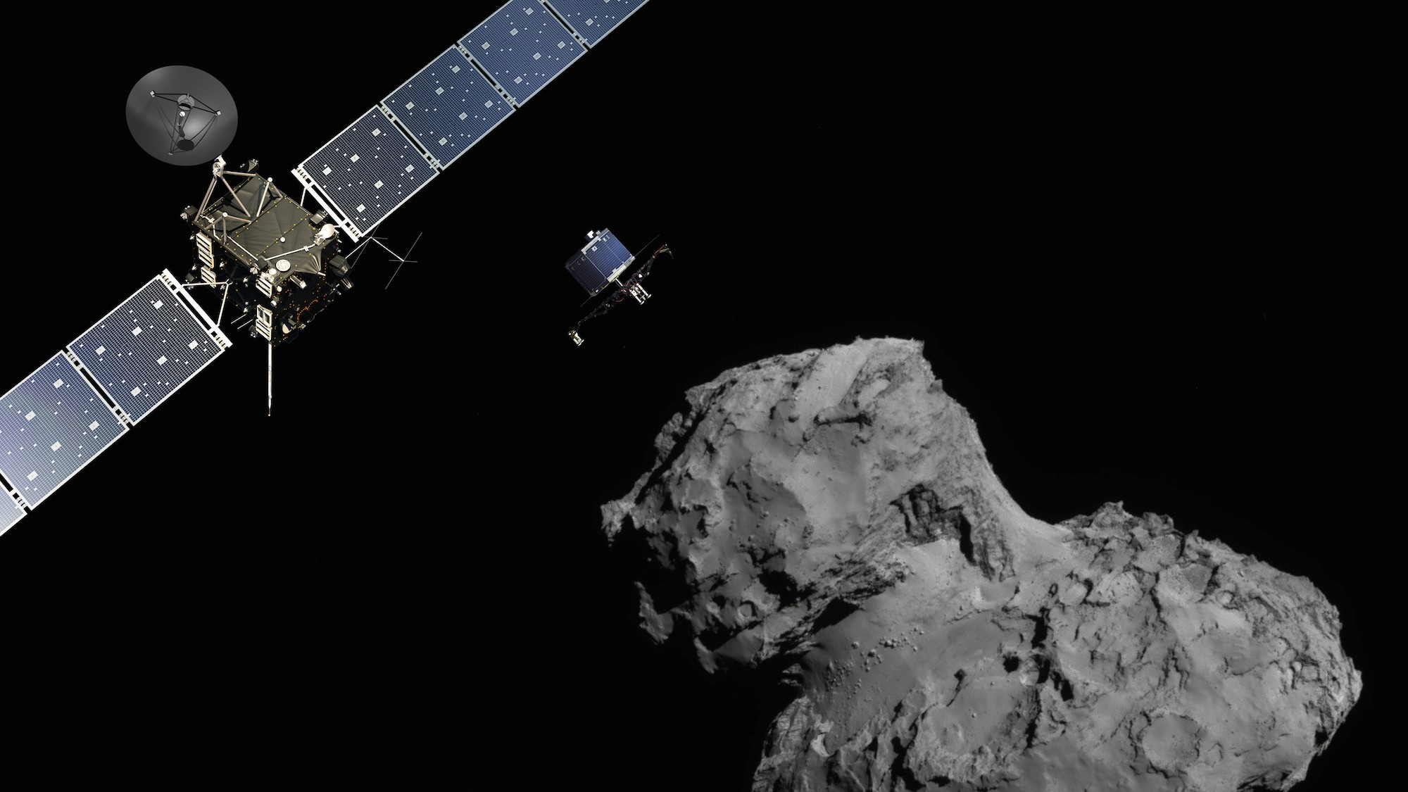 Rosetta Gets the Go-Ahead to Chase Its Comet for 9 Months Longer