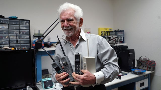 Meet Marty Cooper, the Forefather of Your Cell Phone