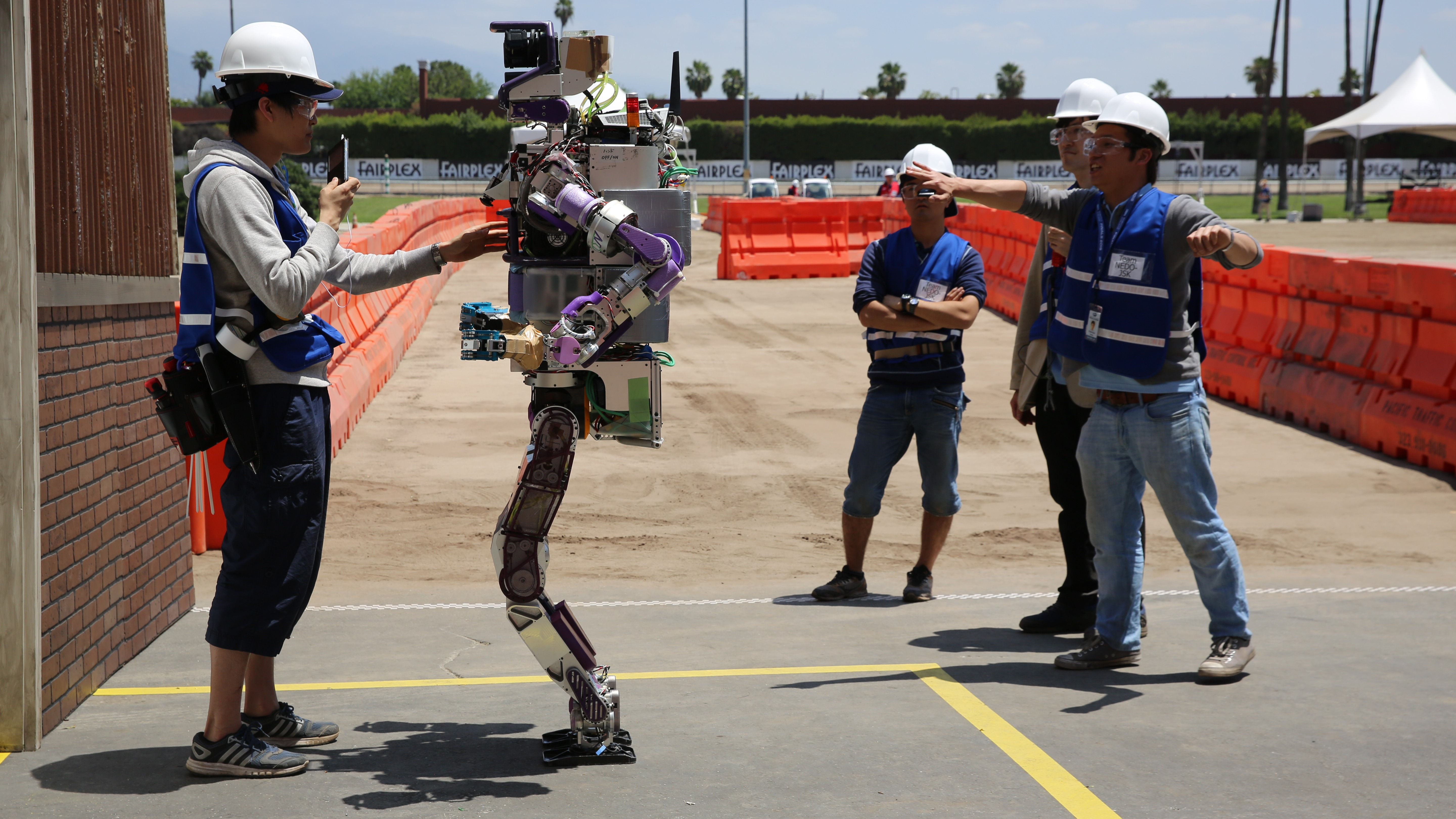 DARPA's Robot Challenge Was Like a State Fair Set 50 Years in the Future