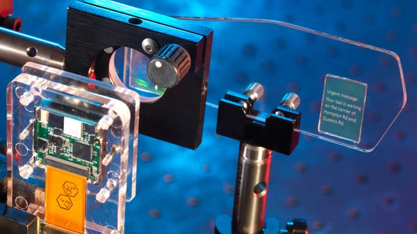 This Prototype Holographic Heads-Up Display Is What Google Glass Should've Been