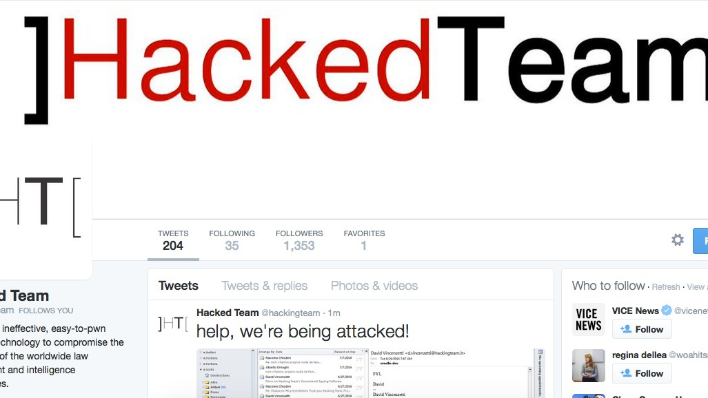 Hacker Claims Responsibility for the Hit on Hacking Team