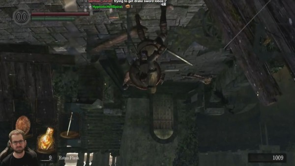 A Madman Is Trying to Beat 'Dark Souls' Upside Down
