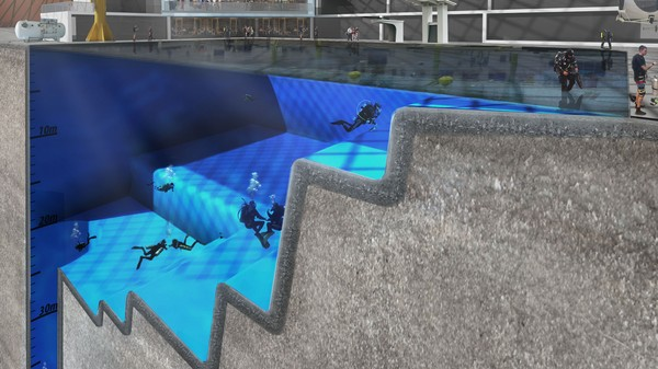 The World's Deepest Pool Could Be a Training Ground for Space Tourists
