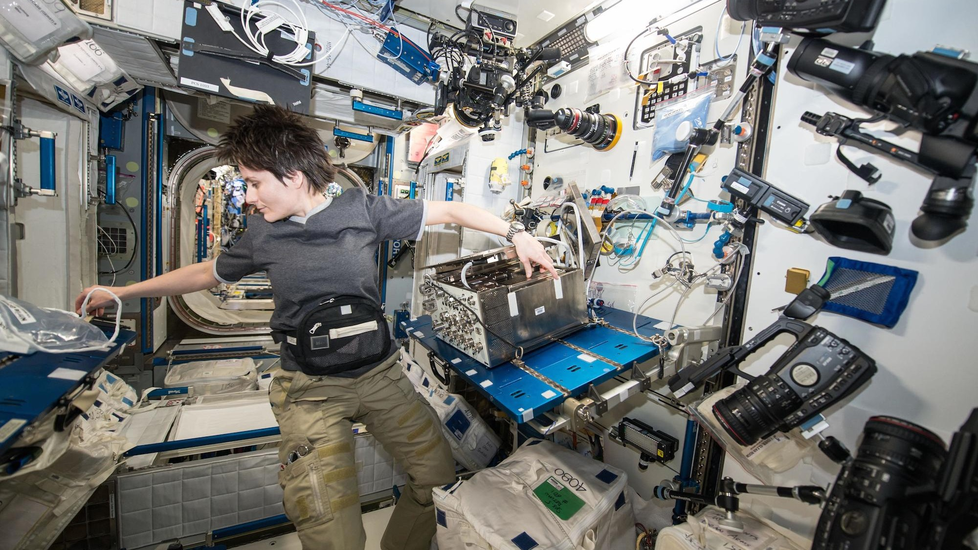 Take a 360 Degree Tour of the International Space Station