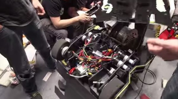 Take a Tour Inside a Battlebot