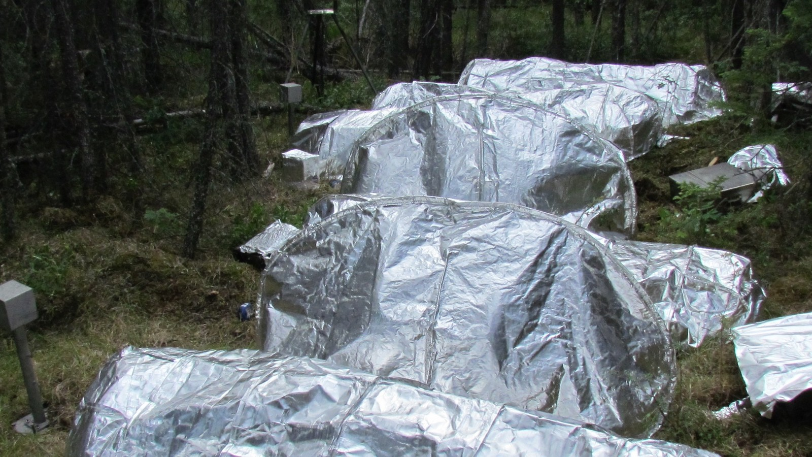 NASA Is Testing Next-Generation Fire Shelters at a Burn Site In Northern Canada