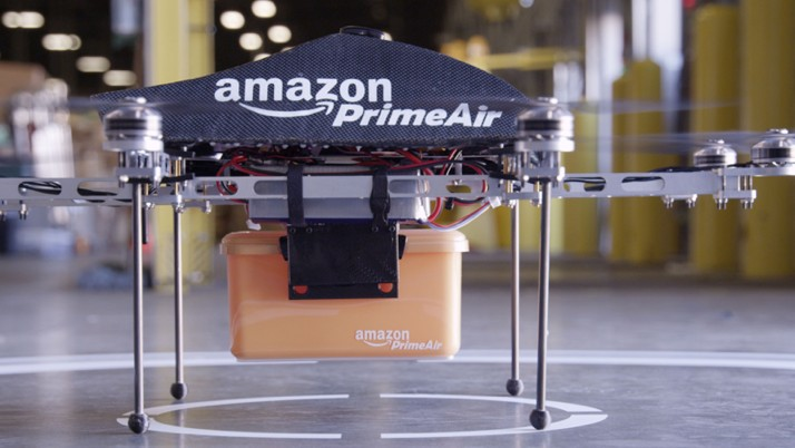 Amazon Wants Drones to Have Their Own Dedicated Airspace