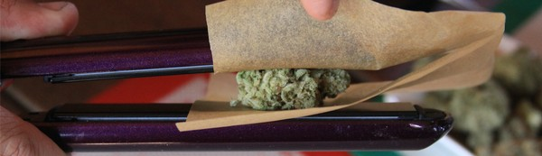 How to Make Weed 'Dabs' at Home With a Hair Straightener