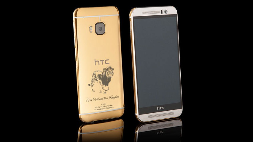 You Can Now Buy a $2,500 Gold-Plated 'Cecil the Lion' Smartphone