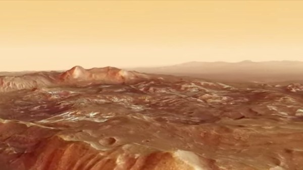 ​Hop on the Mars Express to Visit the Red Planet's 'Atlantis Chaos' Region