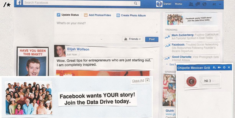 'Data Drive': The Disturbing Dystopian Facebook of the Future