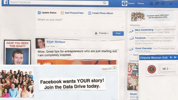 'Data Drive': The Disturbing Dystopian Facebook of the Future