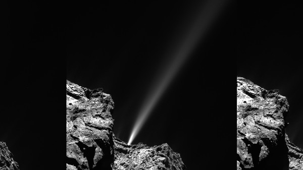 Happy Perihelion! Rosetta's Comet Gets Closest to the Sun