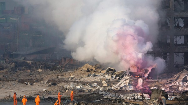 The Cause of the Deadly Tianjin Warehouse Explosion Remains Unclear
