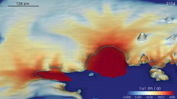 This Simulation Shows the Future of Climate Change for Antarctic Ice Sheets