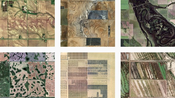Check Out These Beautiful Aerial Shots of a Centuries-Old Land Division System