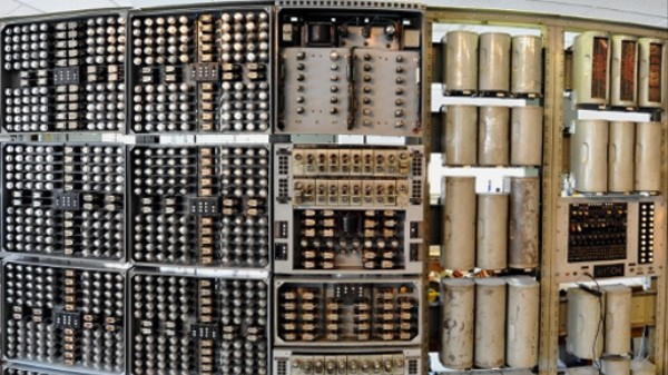 A Painting of the World's Oldest Digital Computer Has Gone Missing