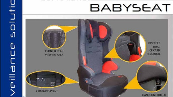 Here Is a Government Surveillance Device Disguised as a Baby's Car Seat
