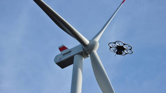 ​Wind Turbine Drone Inspection Could Be a $6 Billion Industry in Under a Decade