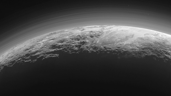 This Is What a Sunset Looks Like on Pluto