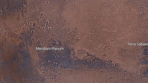 'Mars Trek' Is Google Earth for the Red Planet