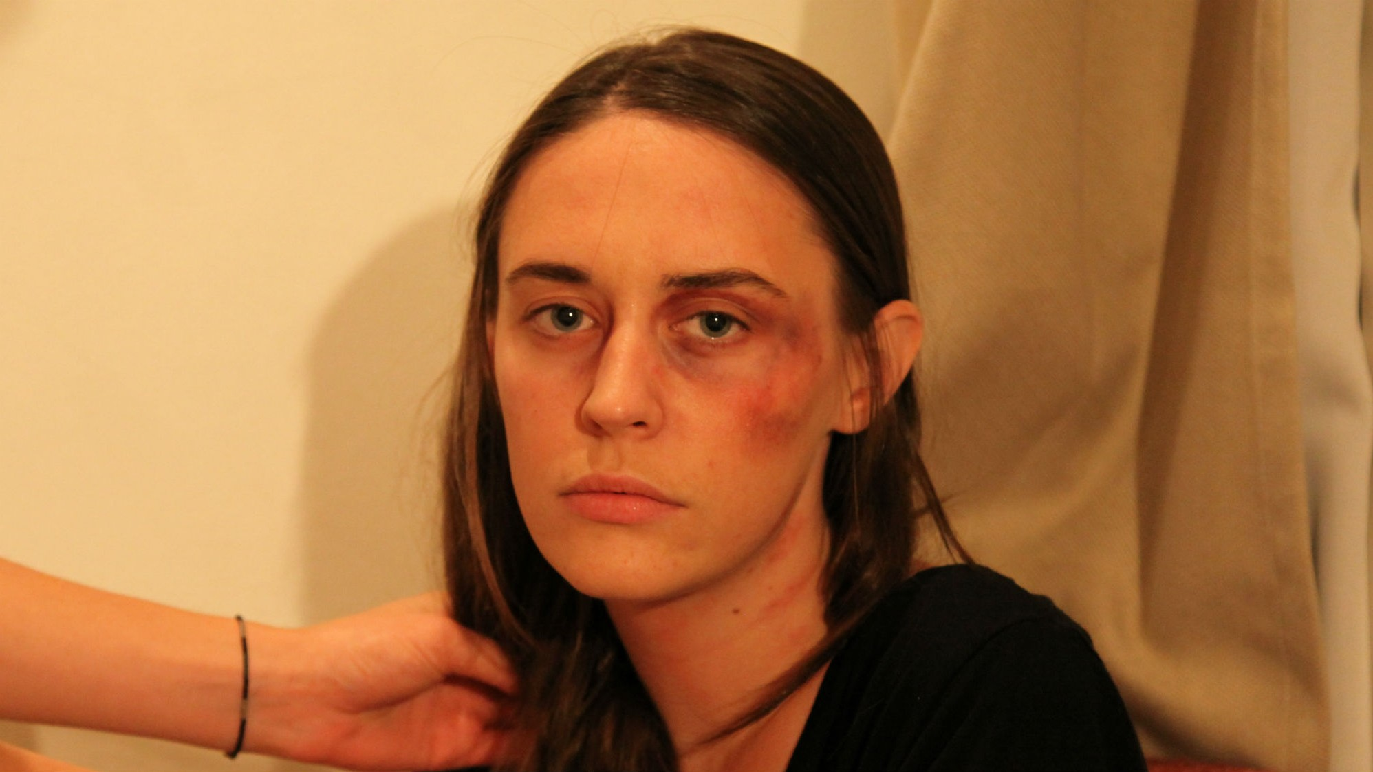 Tinder Blocked Anti-Violence Campaign that Made Woman Look Beaten