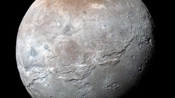 ​NASA Releases Photos of Charon, Pluto's Biggest Moon