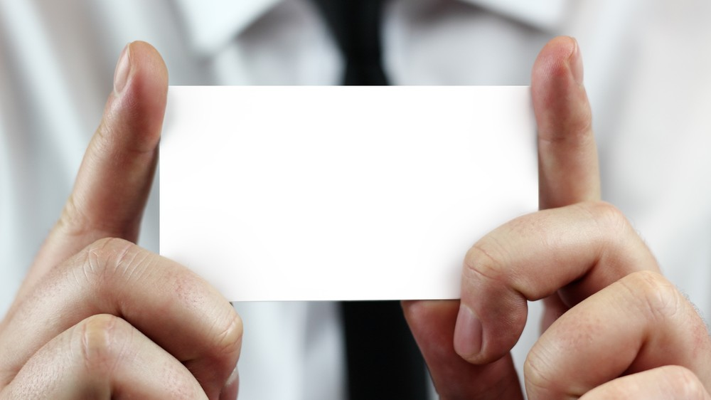 Why Are Business Cards Still a Thing?