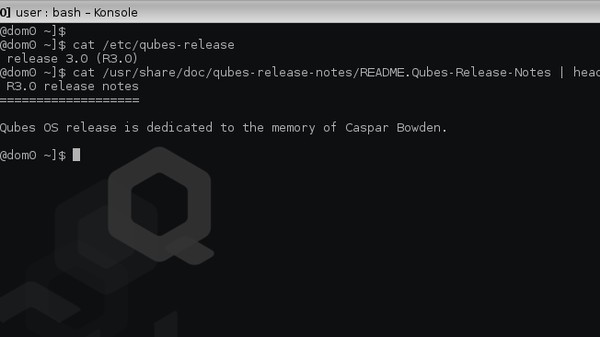 Finally, a 'Reasonably-Secure' Operating System: Qubes R3
