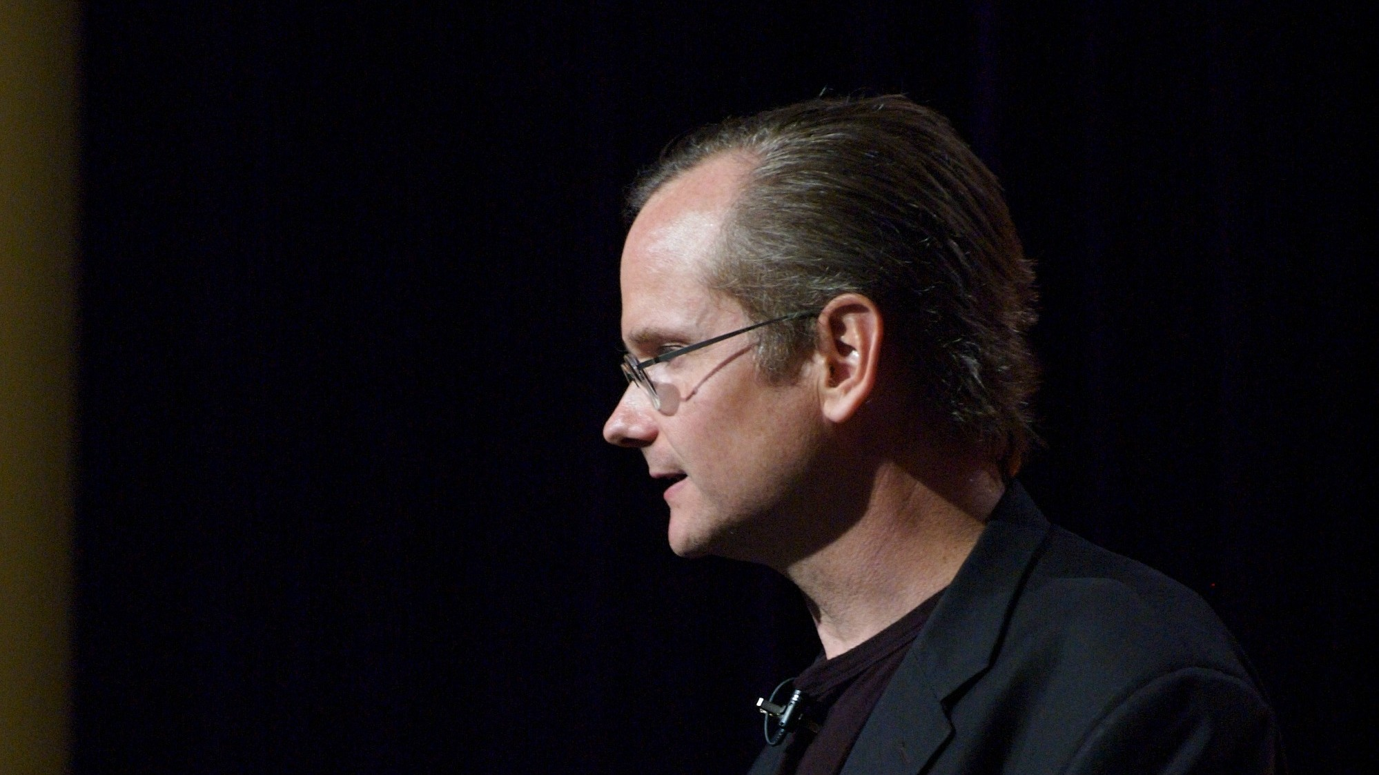 Why Is Lawrence Lessig Missing From Tonight's CNN Debate?