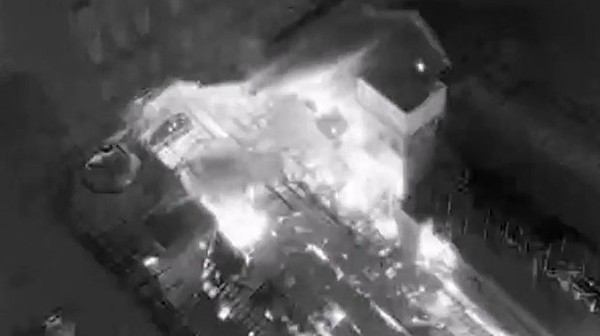 Watch Firefighters in Manchester Fight Fire with a Drone