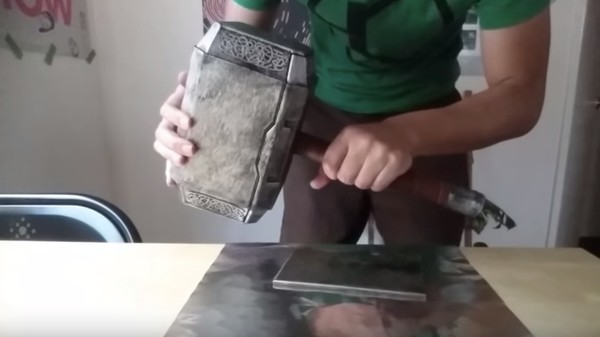 This YouTuber Built a Real-Life Mjölnir That Only the Worthy Can Wield