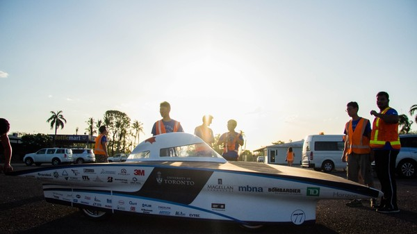 Meet Horizon, the Only Canadian Car in This Year's World Solar-Powered Race