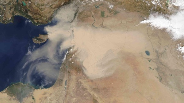 The Syrian War Is Causing a Dust Bowl in the Middle East, Researchers Suspect