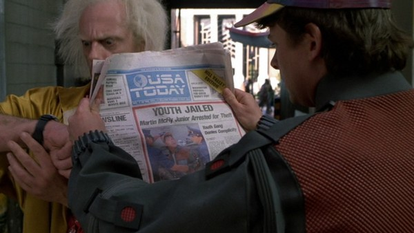 Fact-Checking the 'Back to the Future 2' Newspaper