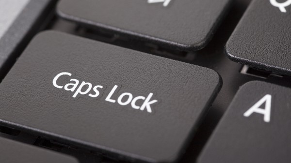 IT'S INTERNATIONAL CAPS LOCK DAY