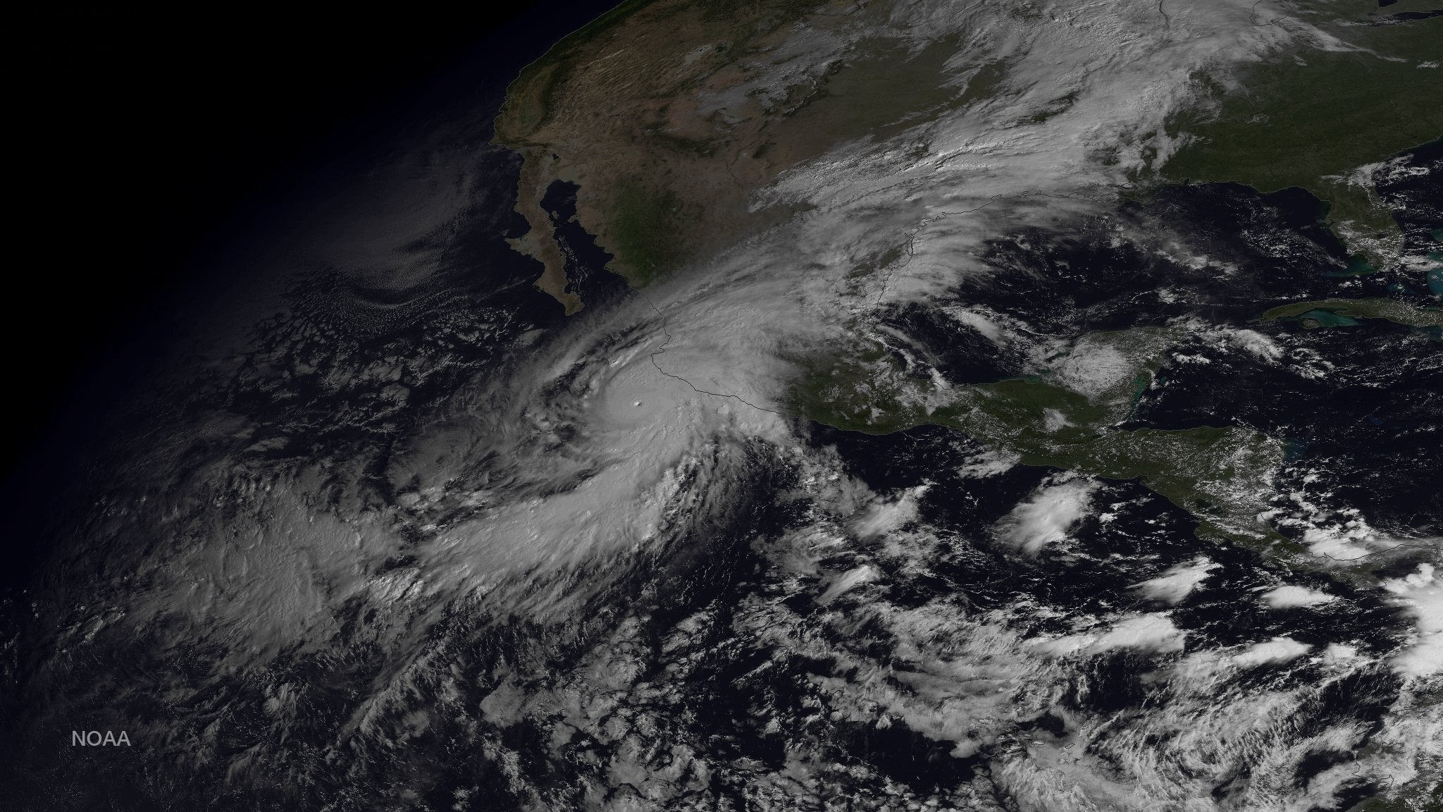 The Strongest Hurricane Ever Recorded Hit Mexico Last Night