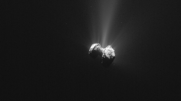 'We Were So Surprised': Researchers Detect Oxygen on Rosetta's Comet