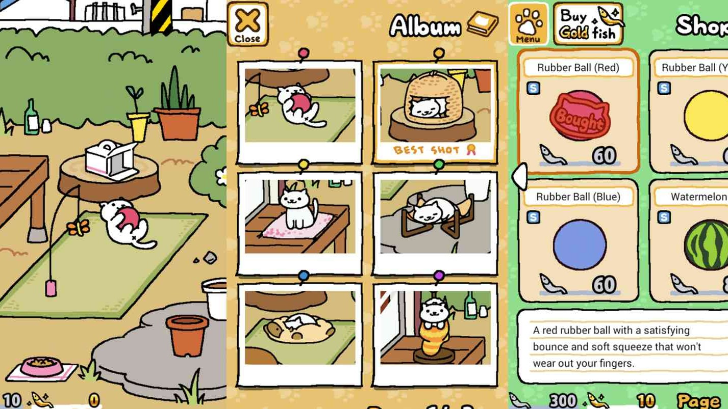 The Adorable Japanese Cat Game Everyone Was Obsessed With Is Now in English