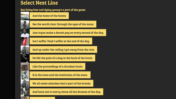Make Your Own Lyrics With this Artificial Intelligence Rap Bot
