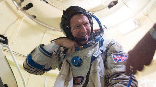 Tim Peake Will Be the First British Astronaut to Go to the ISS