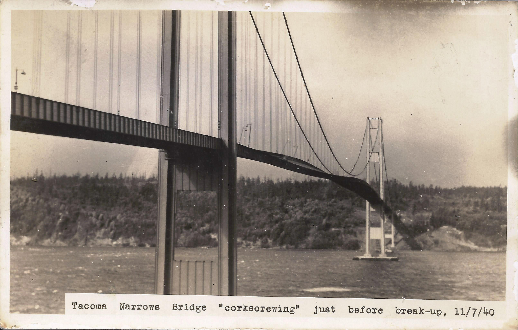 tacoma narrows bridge collapse essay