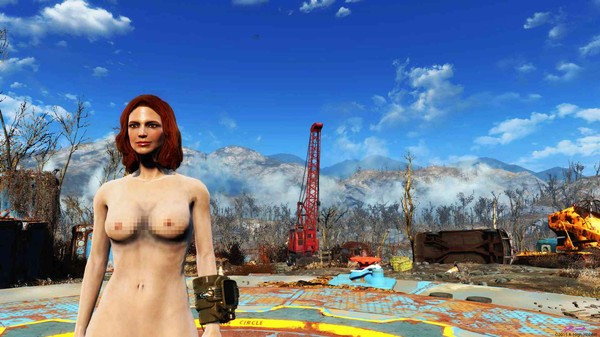 Welp, It Took a Whole Day to Get 'Fallout 4' Nude Mods