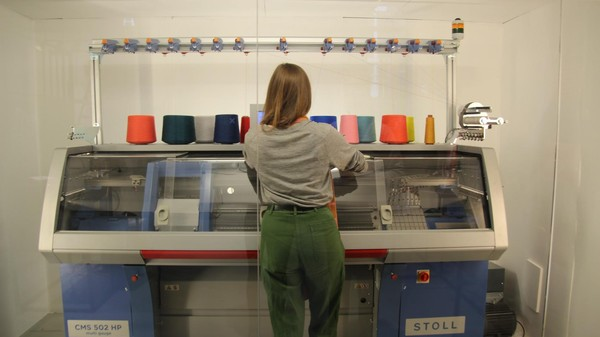Designers Hacked an Industrial Knitting Machine to '3D Print' Unique Pieces