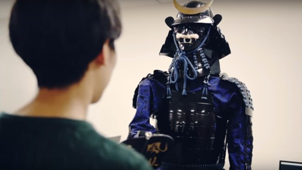 This Swordless Samurai Robot Is Seeking Harmony with Humans